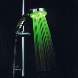 LED душ - слушалка в 3 цвята без батерии