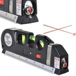 Laser Level Pro 3 - лазерен нивелир с ролетка 2.5 м