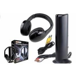 5 в 1 - безжични слушалки